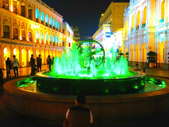 Water Fountain in Senado Square, Macau