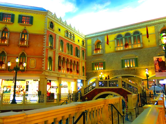 The grand canal shoppes in Venetian Macao