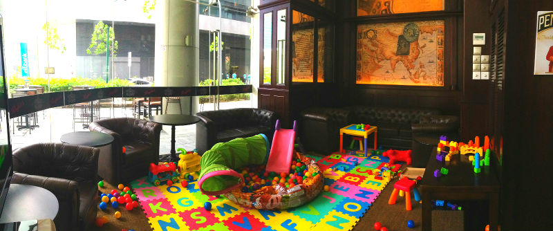 The Bank Bar And Bistro Playroom
