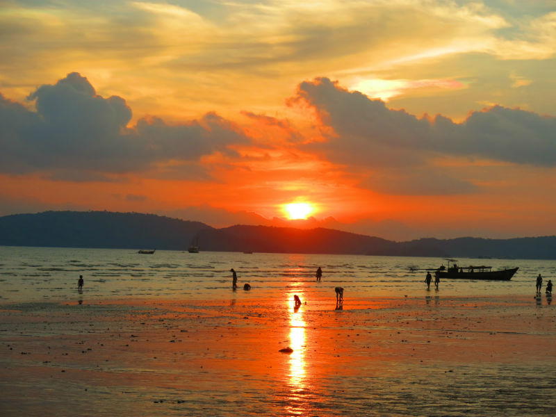 Krabi Ao Nang Sunset