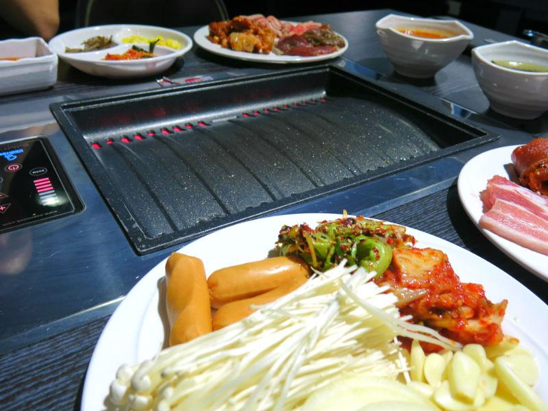 Korean Bbq Table Top Grill im Kim Korean Bbq Grill Pan