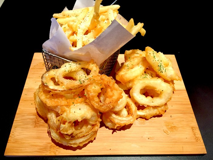 26 Tapas Bar - Truffle Fries Onion Rings Calamari