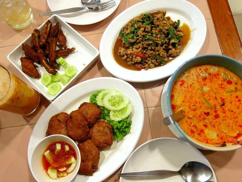 Siam Square Street Food