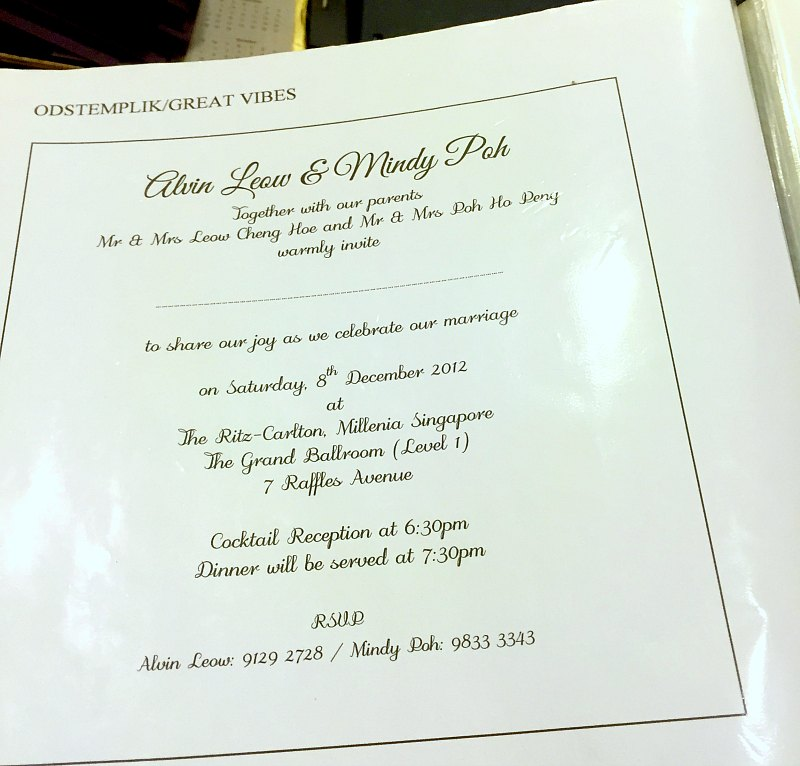 How To Design Wedding Invitation Card In Singapore