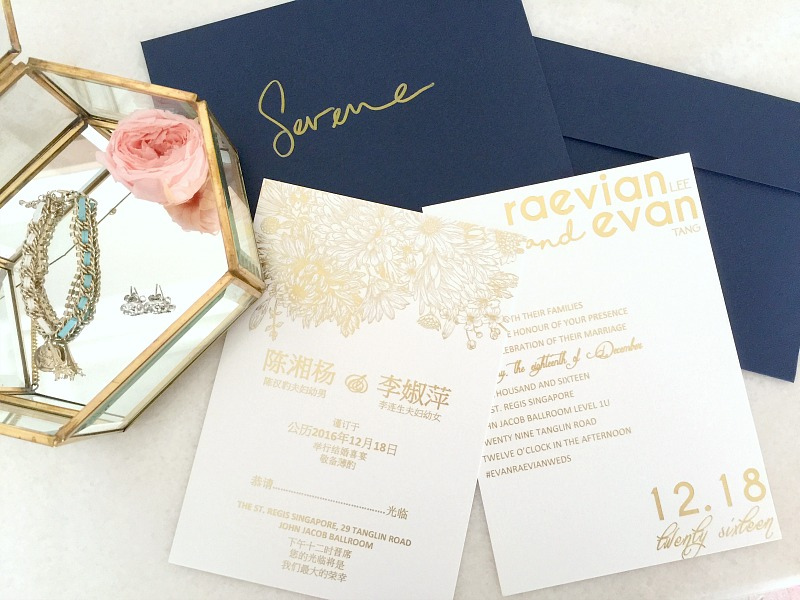 How to design wedding invitation card in singapore eatandtravelwithus and so we were all done with the card design and printing specifications we emailed shirley our pdf designs along with our finalized requirements stopboris Choice Image