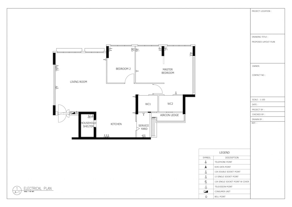 Fantastic How To Plan Lighting And Electrical Works For Your House Wiring 101 Cajosaxxcnl