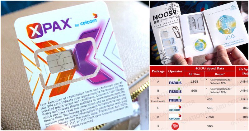 Where to Buy Malaysia SIM Card in Singapore - EatandTravelWithUs